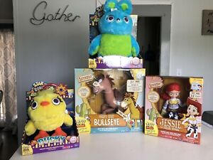 Toy Story Signature Collection With Bullseye + Jessie + Bunny & Chick Lot