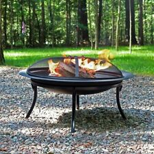 Heavy Duty Portable Firepit with Carry Case