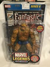 Toy Biz Marvel Legends Series 2 The Thing Action Figure 32 Page Comic & Stand