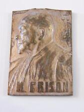 Medaille aus Bronze Maurice Friesisch Rechtsanwalt 1887 1937 von p braecke