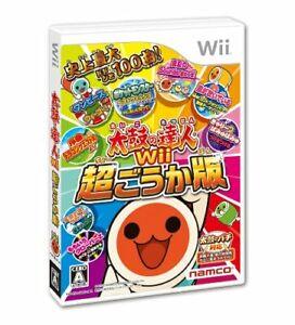 Taiko no Tatsujin Wii ultra-luxurious Wii Bandai Namco Nintendo Wii From Japan