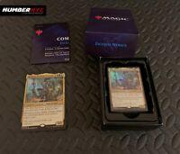 Magic MTG Gathering Commander 2019 Faceless Menace Deck Kadena Slinking Sorcerer