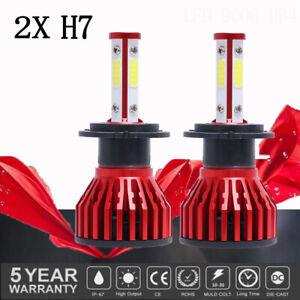 2Pcs LED H7 Headlight Bulbs Conversion Kit Low Beam  Fog Lamp White Bright