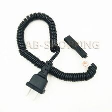 Power cord for Norelco, Remington Shaver and Braun Shaver