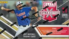 2017 Panini Elite Extra Edition Baseball SEALED RETAIL BOX