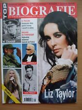 LIZ TAYLOR on cover  Magazine TOP BIOGRAFIE 9-10/2003 Elvis Presley,Shakira