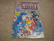 Jack Kirby's Secret City Saga #1 (1993 Series) TOPPS Comics Sealed NM/MT