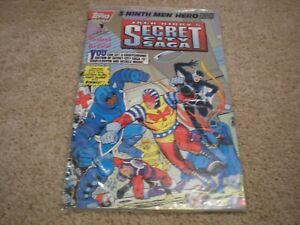 Jack Kirby's Secret City Saga #1 (1993 Series) TOPPS Comics Sealed NM/MT
