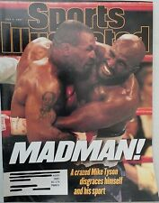 JULY 7, 1997 SPORTS ILLUSTRATED - MIKE TYSON - EVANDER HOLYFIELD