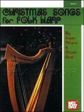 Christmas Songs for Folk Harp Sheet Music Book Xmas SAME DAY DISPATCH