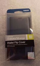 OEM Original Samsung Wallet Flip Cover Case for Galaxy S6 edge & Free shipping!