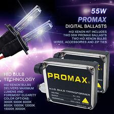 Promax Xenon HID Conversion 55W Kit H1 H7 H3 H4 H10 H13 H11 9005 9006 9007 6000K