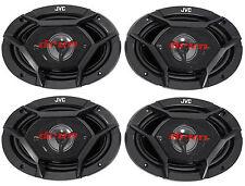 (4) New JVC CS-DR6940 6x9 2200 Watt 4-Way Car Stereo Audio Speakers