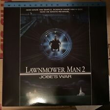 "Lawnmower Man 2 : Jobe's War / Widescreen  - 12"" Laserdisc Buy 6-free shipping"