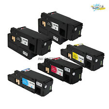 5PK New Dell 1660 High Yield Toner For Dell C1660 C1660W C1660CNW Printer