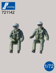 1/72 PJ PRODUCTION US PILOTS WITH JHMCS HELMET SEATED IN A/C
