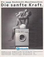 BAUKNECHT WASCHMASCHINE LAVE-LINGE PUBLICITE PRESSE ADVERT 1988 ALLEMAGNE
