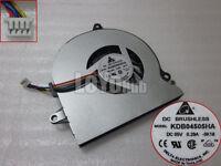 For Delta KDB04505HA Cooling Fan DC 5V 0.29A Bare fan 4wire 4-pin Aluminum