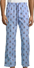 Psycho Bunny Men's Serenity Blue Bunny Print Lounge Pajama Pants