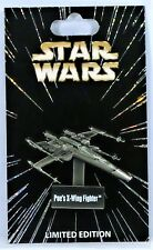 Disney Star Wars Pin Of The Month Vehicles Series Poes X Wing Hinged Pin LE 6000