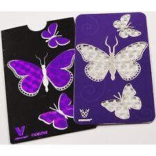 V-Syndicate Grinder Cards Butterfly Design Herb Grinder 420 Genuine Collectors