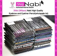 30dz (360pcs) Nabi  Eyebrow and Eyeliner Pencil(wholesale lot) _cruelty Free