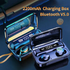 New listing Bluetooth Ipx7 Waterproof Earbuds for iphone Samsung Android Wireless Earphone