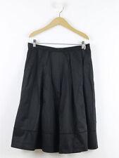 Hobbs Patternless A-line Regular Size Skirts for Women