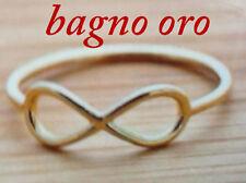 anello infinito  argento 925  pl oro compra e mandaci mail con tua misura dito
