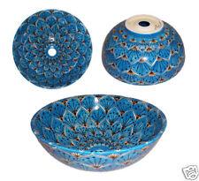 "# 109) Vessel Bowl Sink Mexican Ceramic Bathroom 151/2"""
