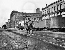 NYC CENTRAL RAILROAD 11th Av Cowboy CHELSEA MARKET Nabisco Bldg 1911 Free Ship
