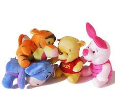 4PCS WINNIE THE POOH & FRIENDS SOFT BEAR PLUSH BEAR KIDS CHILD BABY STUFFED TOY