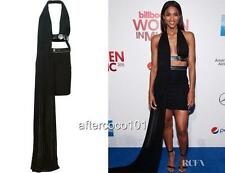 Versace Versus black Cutout Dress Uk8 IT40 RRP1100GBP Auth US4 New
