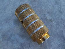 "Mid School BMX gold threaded Peg Fits 3/8"" Axles, 28T"
