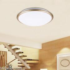 Round LED Ceiling Light Flush Mount Fixture Lamp Bedroom Living Room Lighting O0