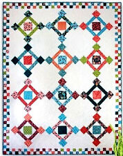 New Straight Pieced Quilt Pattern   SQUARE PEGS  Make It Any Size