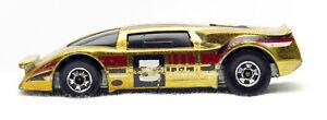 Hot Wheels Crack Ups - Basher II - ( Metallic Gold, Black Wall)