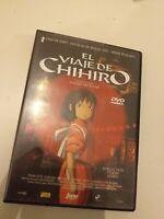 Dvd☆ EL VIAJE CHIHIRO /UN OSCAR  MEJOR PELICULA  ANIMACION ANIME