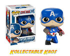 Captain America: Civil War - Kneeling Pose Captain America Pop! Vinyl Figure