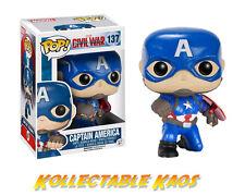 Captain America: Civil War - Kneeling Pose Captain America Pop! + Protector