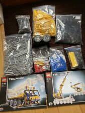 Lego Technic Crane 8421 with Instructions. Genuine & 100% Complete with Motor