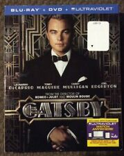 The Great Gatsby Blu-Ray+DVD+Ultraviolet Preowned