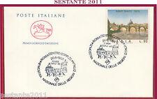 ITALIA FDC IL CAVALLINO 1988 MOSTRA REGIONI ITALIA EXPO' 88 ANNO SANTO 1975 Z57