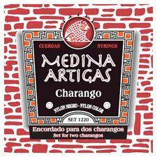 More details for medina artigas charango strings 1220d black nylon double pack for two charangos