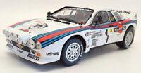 Kyosho 1/18 Scale Model Car 08306A - Lancia Rally 037 1983 Monte Carlo