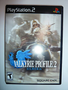 Valkyrie Profile 2: Silmeria for PS2 RPG video game sequel JRPG PlayStation 2!