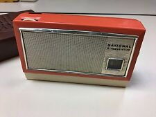 Vintage Portable Radio National Panasonic Matsushita AM T-50 working from 60's