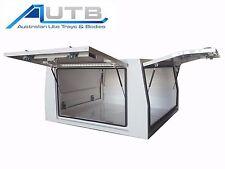 Aluminium Ute Canopy 1650mm L x 1770mm W - 3 Door 2.5mm Powdercoated