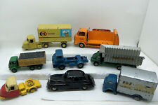 Budgie Diecast Toys Job Lot 8 Models for Collecting or Restoration or Spares