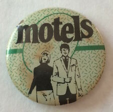 RARE Vintage 1980's THE MOTELS pinback button pin Martha Davis 80s LA New Wave